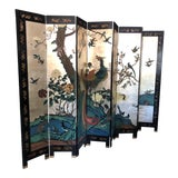 Image of Early 20th Century 8-Panel Coromandel Screen For Sale