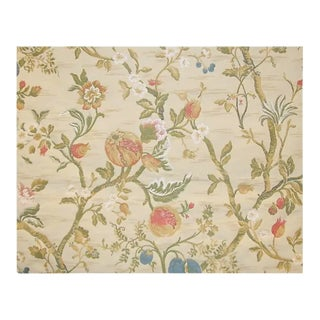 Back in Stock! Old World Weavers / Scalamandre Lampas Fabric - 3 Yard For Sale