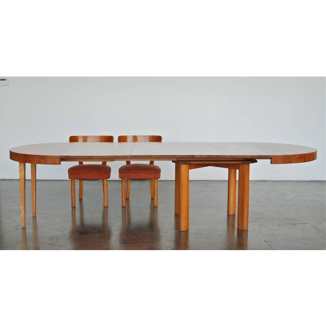 1930s Extendable Dining Table by Axel Einar Hjorth, 1930s For Sale - Image 5 of 9
