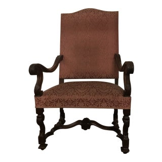 French Louis the Xlll Chair For Sale