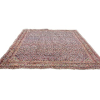 Grand Fereghan Carpet from Central Persia For Sale