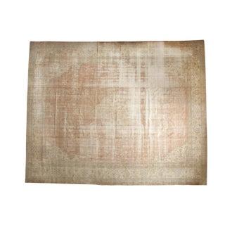 "Vintage Distressed Sparta Carpet - 12'11"" X 16' For Sale"
