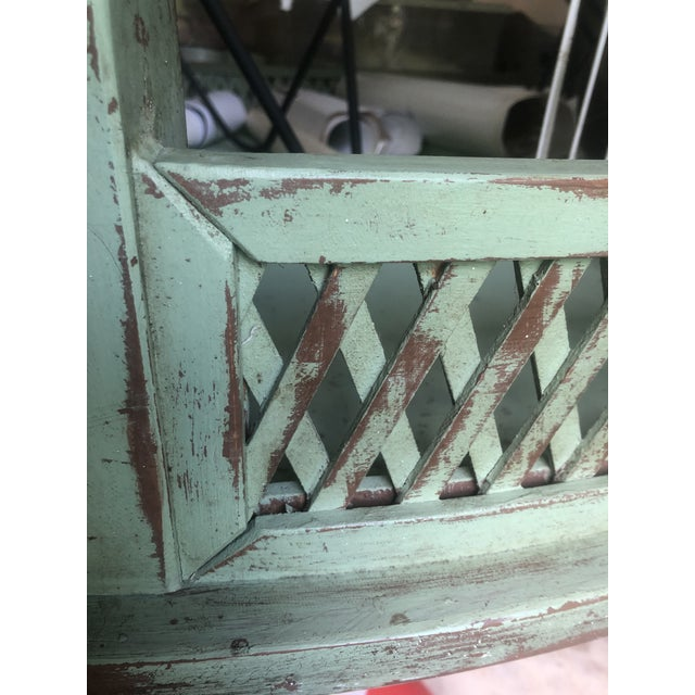 Vintage Farmhouse Dining Table For Sale - Image 10 of 10