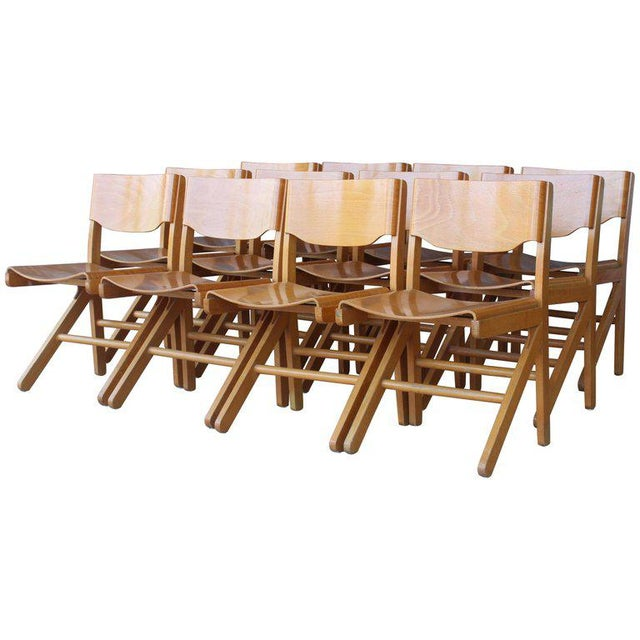 Dining Chairs by Joamin Baumann, France, 1960s For Sale - Image 13 of 13