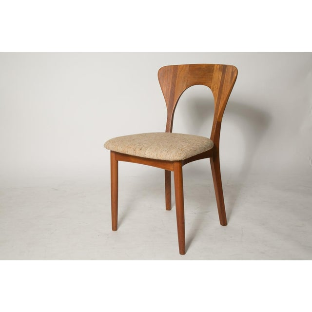 Mid-Century Modern Key Hole Dining Chair - Image 2 of 4