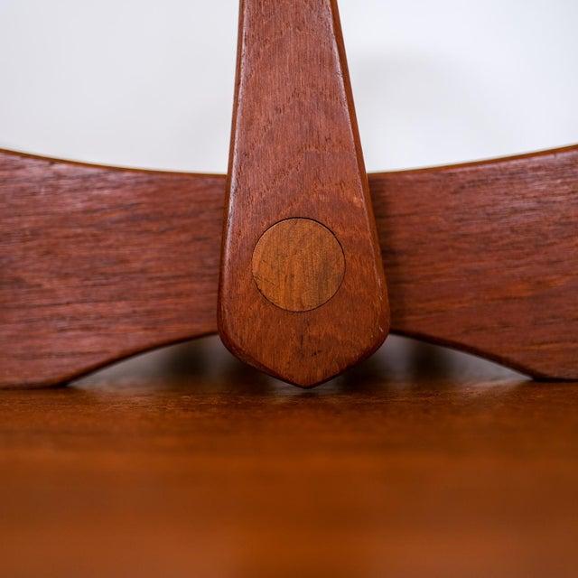 Wood Dansk Staved Teak Magazine Rack by Jens Quistgaard For Sale - Image 7 of 12