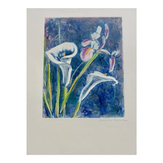 Contemporary Drawing, French Flowers For Sale