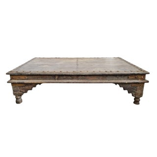Antique Takhat Coffee Table