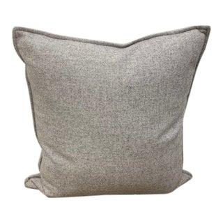 Sandra Jordan Heathered Alpaca/Lamb Wool Pillow For Sale