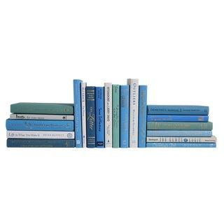 "Modern ""Ocean"" Pocket-Sized - Set of Twenty Decorative Books"