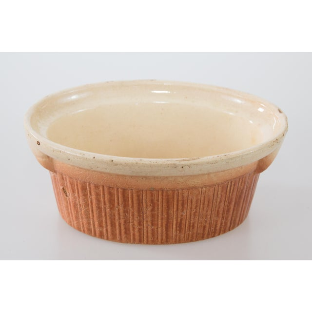 An antique French oval lidded pate tureen or casserole dish. Add some French country decor to your kitchen with this...