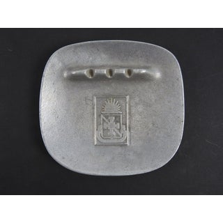 Walter Reed Institute Nursing Pewter Ashtray Preview