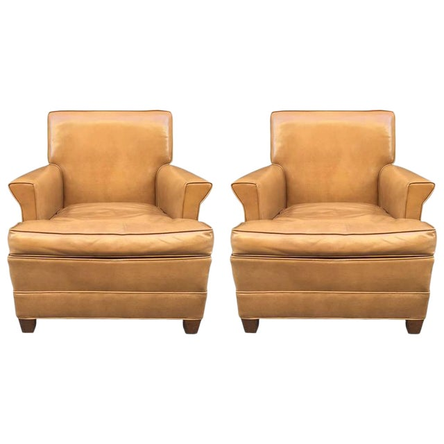 Paul Frankl Style Lounge Chairs - Image 1 of 5