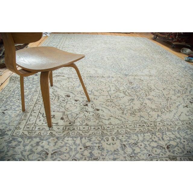 "Distressed Oushak Carpet - 9'4"" X 12'2"" - Image 2 of 10"
