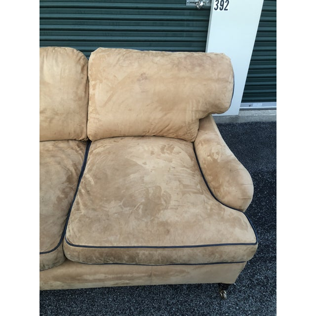 George Smith Loose Back Standard Arm Sofa For Sale In New York - Image 6 of 8