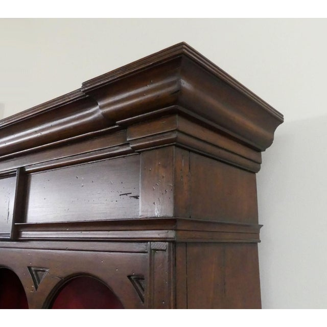 Hekman Display Cabinet Bookcase Hutch For Sale - Image 10 of 13