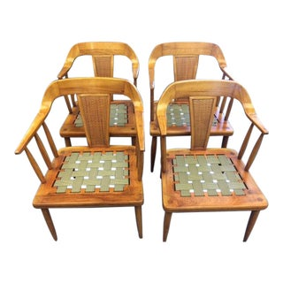 1950s Vintage Tomlinson Furniture Company Mid-Century Modern Chairs - Set of 4 For Sale