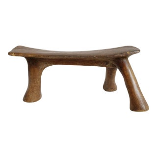 Old East African Headrest For Sale