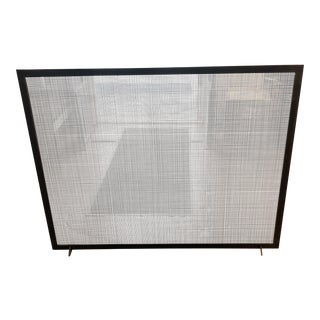 Custom Made Fire Screen For Sale