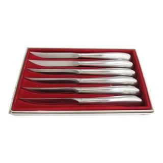 Fraser's Stainless Steak Knives WMF Cromargan 8850 Germany - Set of 6 For Sale