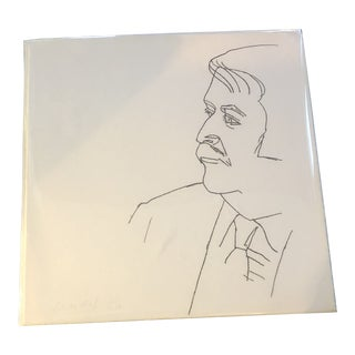 Alex Katz Signed Soft Ground Etching on Paper For Sale