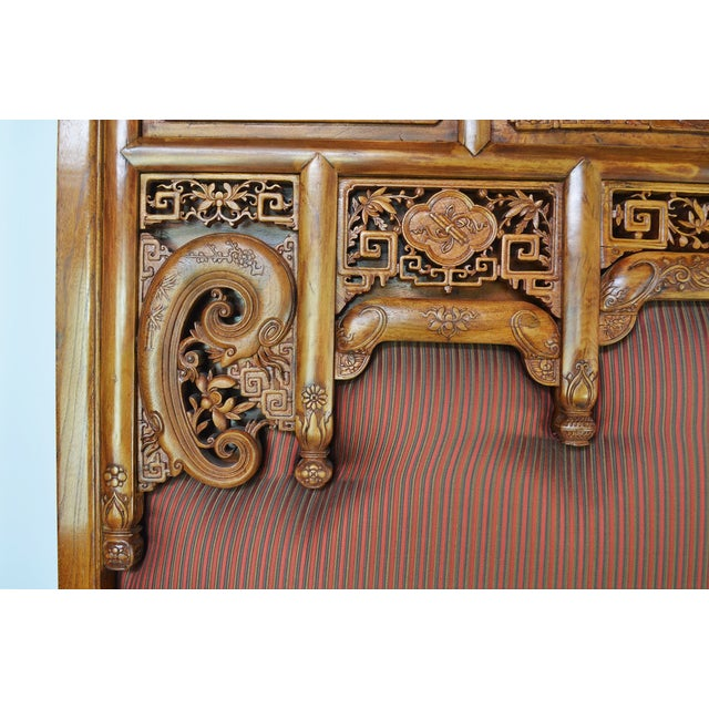 19th-C. Chinese Qing Dynasty Bed - Image 9 of 10