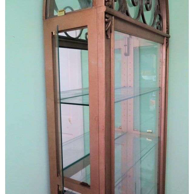 Hollywood Regency Display Case For Sale In Los Angeles - Image 6 of 8