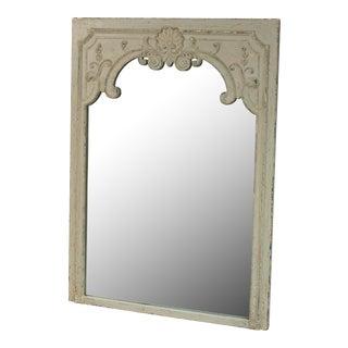 Sarreid Ltd. French Antique Gray Pine Mirror
