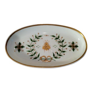 1960s Vintage Limoges Napoleonic Tray For Sale