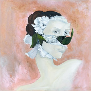 """You Made Flowers Grow in My Lungs and Now I Can't Breathe"", Painting by Atelier Miru For Sale"