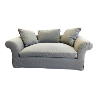 A.Rudin Rolled Arm Lounge Sofa For Sale