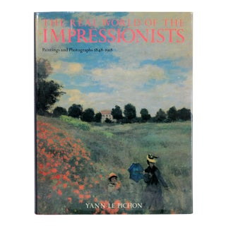 """The Real World of the Impressionists"" 1st Edition Book For Sale"