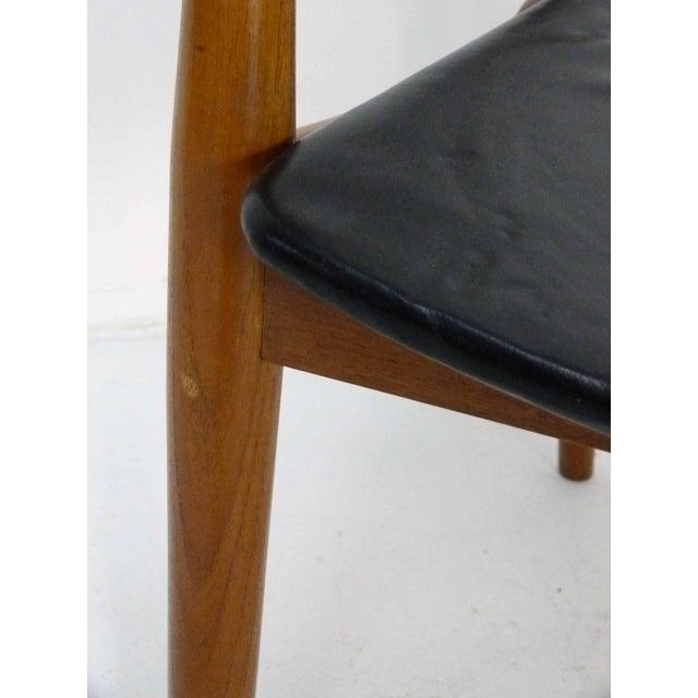 Danish Modern Teak Barrel Arm Chair - Image 9 of 10