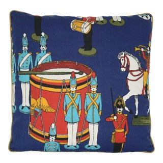 Vintage Mid-Century Beatles Inspired Toy Soldier Pillow For Sale