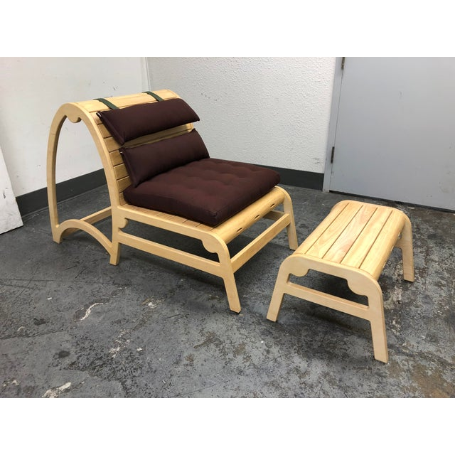 New Infinity Yoga Chair + Ottoman From Bhoga For Sale - Image 13 of 13