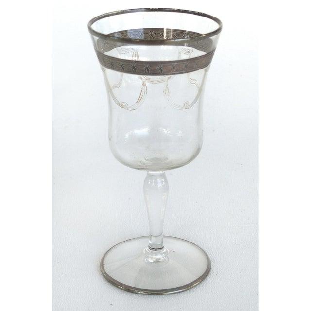 1930s-1940's Art Deco Stemware Glasses- Set of 28 For Sale In Miami - Image 6 of 10