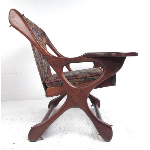 Mid-Century Modern Mid-Century Don Shoemaker Accent Chair For Sale - Image 3 of 11
