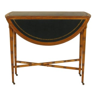 20th Century Regency Style Game Table For Sale