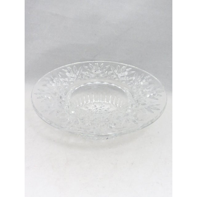 Transparent Waterford Pillar Candle Holder/Wine Coaster For Sale - Image 8 of 11