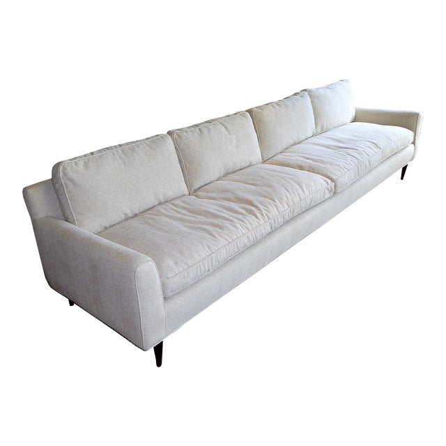 Gio Ponti Bespoke Mid-Century Sofa by Singer & Sons, 1957 For Sale