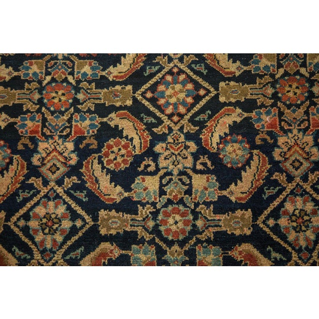 "Vintage Malayer Square Rug - 5' x 6'2"" - Image 5 of 9"