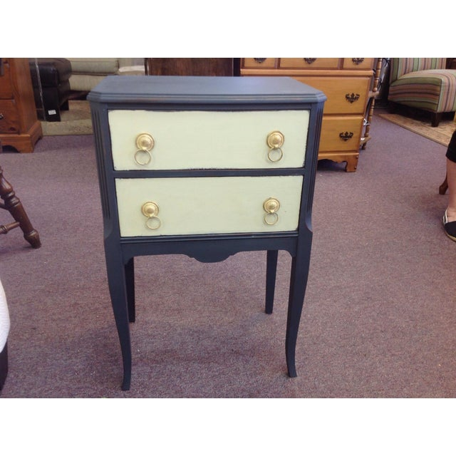 Two Toned Side Table - Image 2 of 8