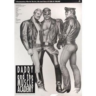 Daddy and the Muscle Academy 1992 U.S. One Sheet Film Poster For Sale