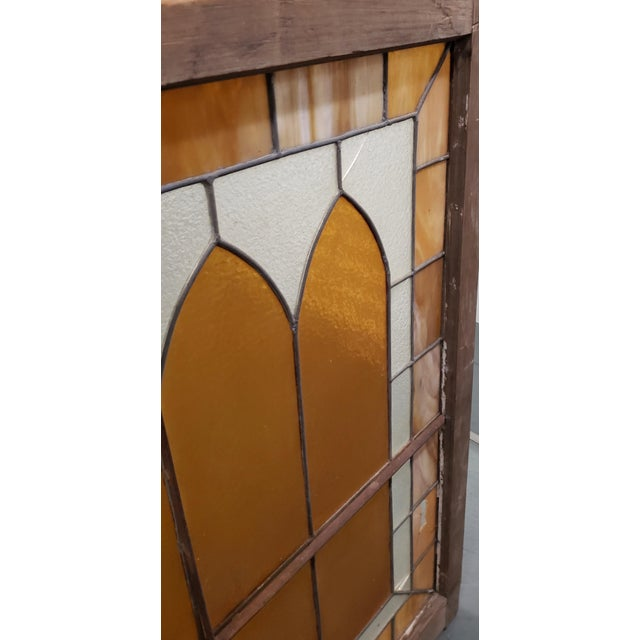 Large Late 19th Century Stained Glass Window Panel C.1880 For Sale - Image 10 of 12