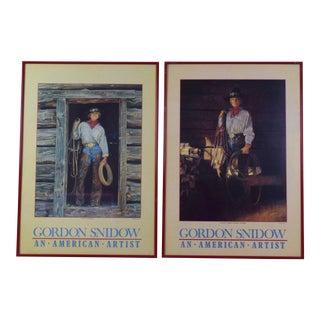 Gordon Snidow Poster Prints - A Pair