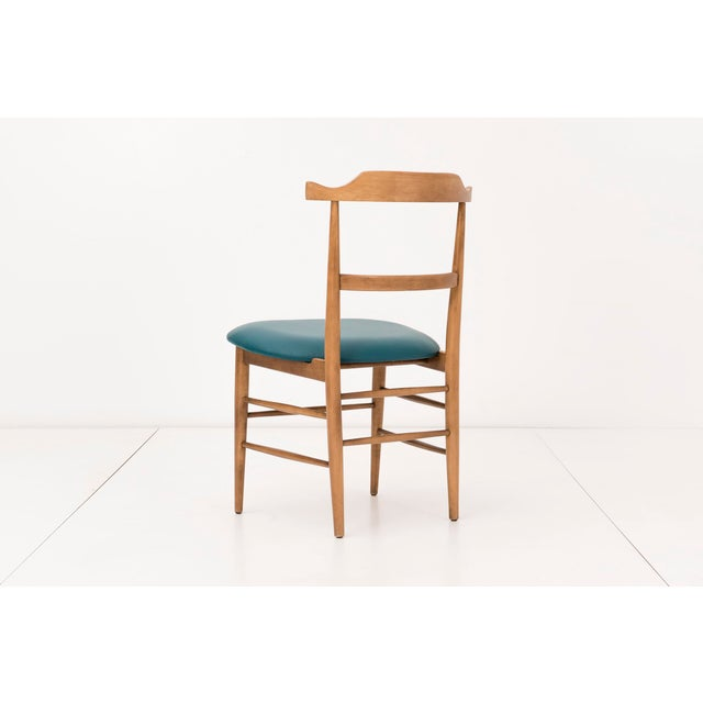 Set of Ten Milo Baughman Dining Chairs For Sale - Image 5 of 8