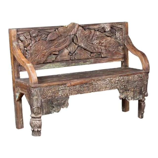 Terrific Modern 56 Teakwood Bench Uwap Interior Chair Design Uwaporg