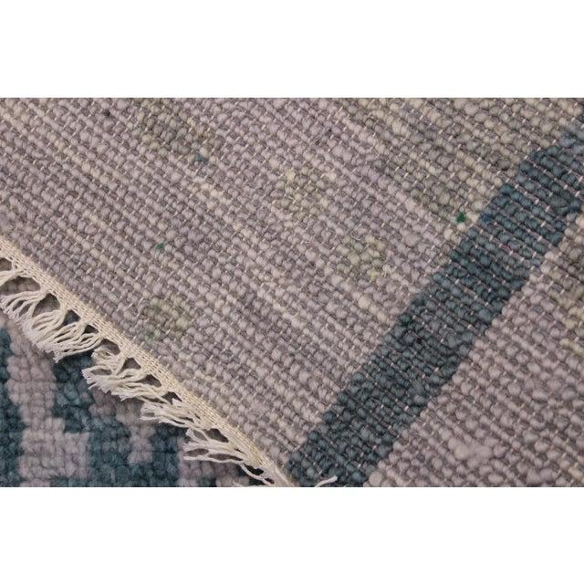 Textile Contemporary Turkish Oushak Evelia Rug - 8′8″ × 11′8″ For Sale - Image 7 of 8