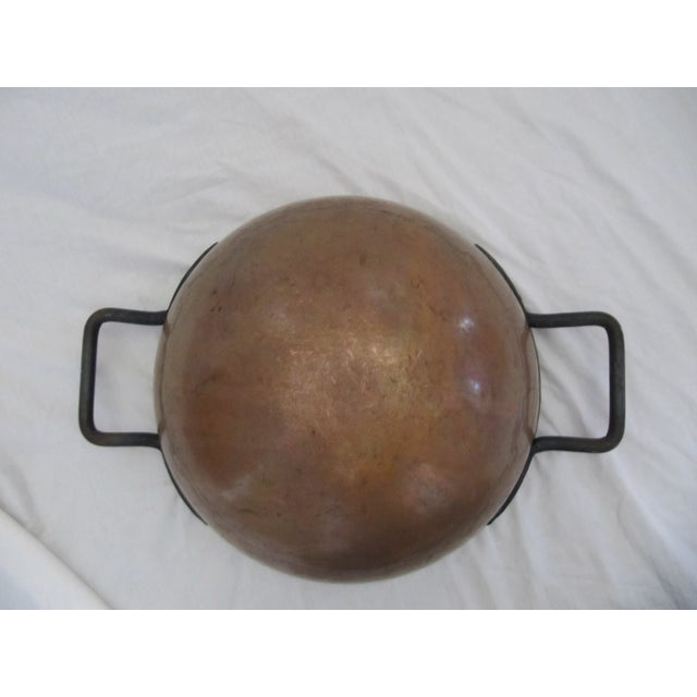 Copper Candy Cauldron For Sale - Image 6 of 9