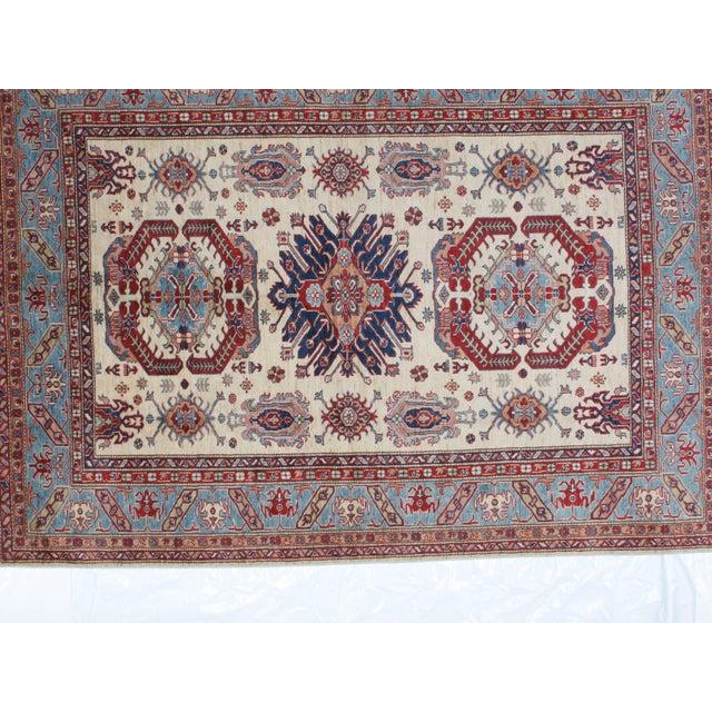 "Leon Banilivi Khotan Ghanzi Wool Carpet - 6'1"" X 8'5"" For Sale - Image 4 of 6"